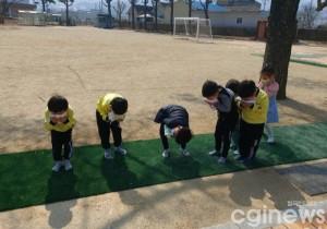 [포토] 학림병설유치원 병아리들의 화재대피훈련